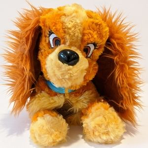 Disney Parks lady plush dog